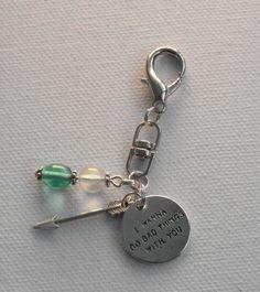 Laukkukoru #5 / Bag charm by Miss Piggy