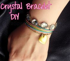 A Splendid Assemblage: DIY: J.Crew Inspired Crystal Bracelet