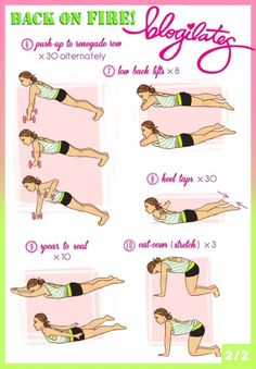 #These 22 Exercises Will Help You Say Bye-bye to Back Fat & Bra Bulge ...