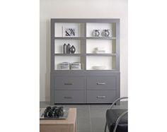 Basic vakkenkast - Kasten - Winkelcollectie China Cabinet, Bookcase, Shelves, Basement Ideas, Storage, Interior, Kitchen, Xmas, Furniture