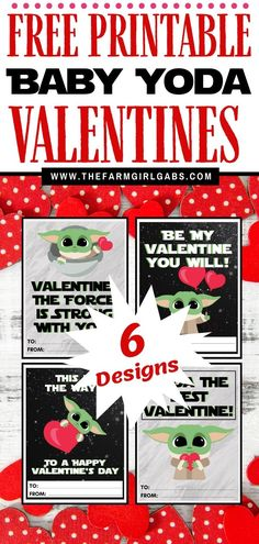 "These Free Printable Mandalorian Baby Yoda Valentines are out of this world. If you are a fan of ""The Child"" or Baby Yoda from the Disney Plus Series . Disney Plus, Disney Diy, Disney Crafts, Kid Crafts, Valentine Day Crafts, Happy Valentines Day, Valentine Cards, Printable Valentine, Disney Valentines"
