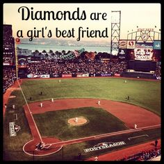 This is my diamond! SF Giants Baby!