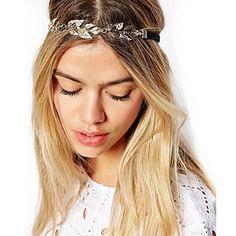 EUR € 3.49 - folha de ouro jóias vintage cabelo cadeia cabeça hairband cristal headband accessires jóias cabeça, Frete Grátis em Todos os Gadgets!