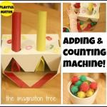 Addition and Counting Machine Maths Activity!