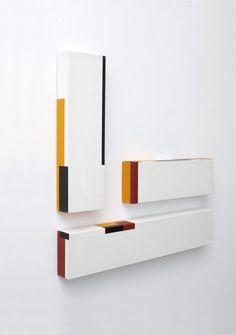 3d Wall Art, Modern Wall Art, Wall Art Decor, Geometric Sculpture, Sculpture Art, Metal Art, Wood Art, Abstract City, Call Art