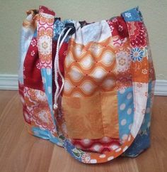 Bathroom Essentials Travel Bag by riaCrafts on Etsy, $42.99