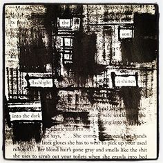 Flashlight: Make Black Out Poetry, Black Out Poetry, Poetry