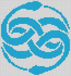 Alpha Friendship Bracelet Pattern #15090 - BraceletBook.com