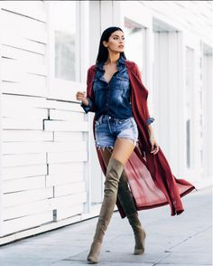 Shoes outfit outfit idea fall outfits cute outfits date outfit spring outfits party outfits trendy clothes Date Outfits, Spring Outfits, Trendy Outfits, Thigh High Boots Outfit, Knee High Boots, High Shoes, Pop Rocky, Girl Fashion, Fashion Outfits