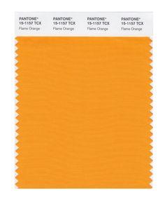 Pantone Smart Swatch 15-1157 Flame Orange