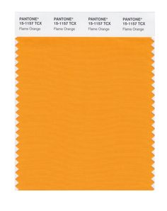 Pantone Smart Swatch 15-1157 Flame Orange