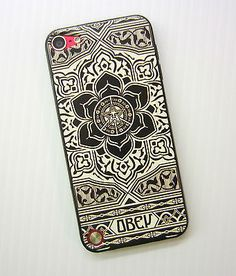 NEW OBEY PEACE JUSTICE HARD CASE TPU EDGE BACK COVER IPOD TOUCH 5 5TH GEN