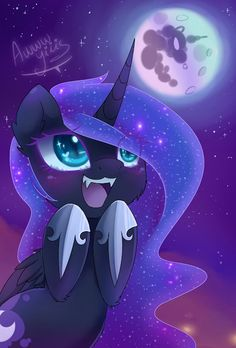 Nightmare Moon Loves Moons!!