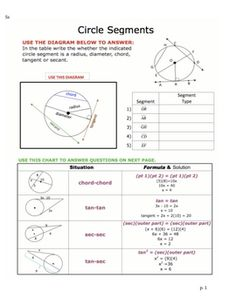 High School Printables. Free Geometry Worksheets and Problems ...