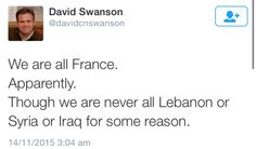 ...Or Palestine or any part of Africa.