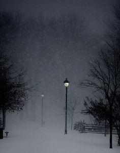 🇨🇦 Winter Wonderland (Quebec, Canada) by Kristina Servant ❄️ Winter Szenen, Winter Love, Winter Magic, Winter Night, Winter's Tale, Snowy Day, Snow Scenes, Winter Beauty, Winter Pictures