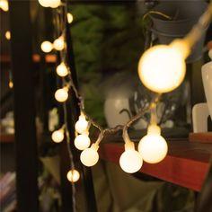 Lights & Lighting Enthusiastic Battery Powered Fairy Lights 5m 50leds 8 Modes Christmas Lights String Ball For Holiday Christmas Party Wedding Festoon Lights