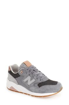 Free shipping and returns on New Balance '580' Sneaker (Women) at Nordstrom.com. Paneled in rich suede, a New Balance original is updated with color-pop accents and a mixed-media finish. The REVlite midsole is exceptionally flexible and lightweight, while a durable gum-rubber sole adds a classic touch.