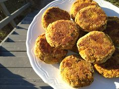 Chickpea and Butternut Squash Cakes