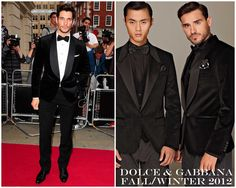 The Derek's Blog: David Gandy en Dolce & Gabbana – GQ men of The Year Awards 2012