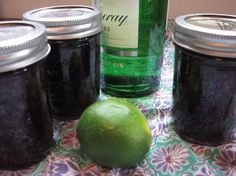 blackberry gin jam
