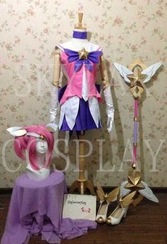 It include costume,wig,shoes,gloves,socks,headdress and weapon. ----------------------------------------- If you need to customize any cosplay