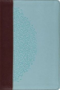 ESV Study Bible/Personal Size-Chocolate/Blue Ivy TruTone