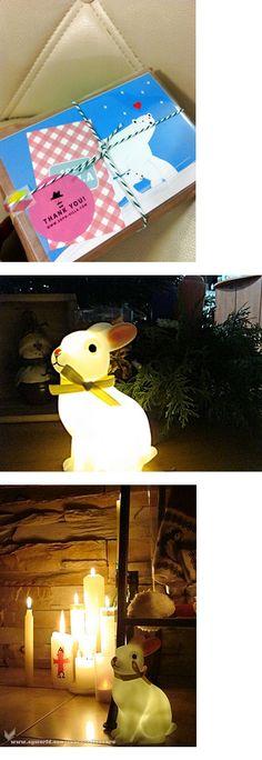 Rabbit light #bunnyinabow