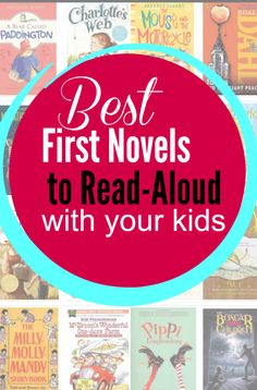 These novels have short chapters, fantastic characters, and easy-to-follow plot lines. What that means? They make for FABULOUS first novels to read aloud with your kids. | Amongst Lovely Things