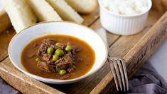 Dušené hovězí maso je velmi jednoduché a velmi chutné. Ramen, Mashed Potatoes, Good Food, Soup, Beef, Fresh, Ethnic Recipes, Whipped Potatoes, Meat