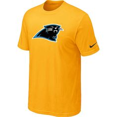 Nike Carolina Panthers Sideline Legend Authentic Logo Dri-FIT NFL T-Shirt -  Yellow Sale ee5603dba