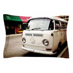 East Urban Home Vw Bus by Angie Turner Pillow Sham Size: King