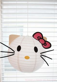 Get ideas and inspiration for an adorable Hello Kitty themed birthday party on our blog.
