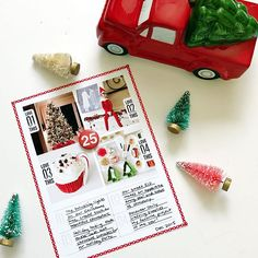 Absolutely loving @aliedwards' Hybrid class and especially love this layered template she offered to students in the class. I used it to create this fun little layout that I plan to add to the end of my 2015 December Daily album. I'm now officially in the holiday spirit and can't wait for all of this year's December magic to unfold!
