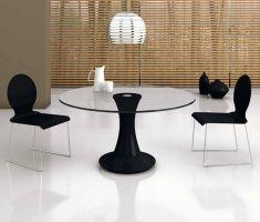 Mesas Modernas de cristal : Modelo RAQUEL