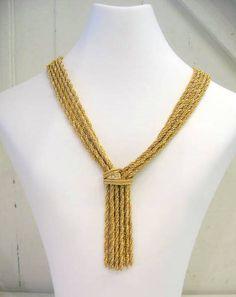 Signed Vintage Christian Dior Necklace