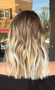 bronde to blonde color melt - so good