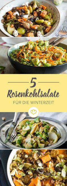 Rosenkohl ist ein wahres Winter-Soulfood. Unsere 5 Rezepte zeigen spannende und leckere Variationen mit dem Wintergemüse.