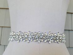 Wedding Belt, Bridal Belt, Sash Belt, Crystal Rhinestone with Rose Gold  Details - Style B20333RG 99ba0fd2e5a