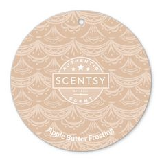 Apple Butter Frosting Scentsy Scent Circle $3.  Let this heartwarming medley of baked cinnamon-spiced apples and decadent vanilla buttercream be the icing that finishes your holiday décor.