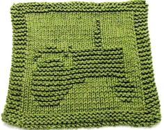 Knitting Cloth Pattern  TRACTOR   PDF by ezcareknits on Etsy, $2.85