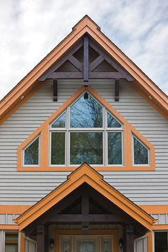 A rustic-looking exterior siding mostly made of genuine wood, whose colour highlights the natural character of the property. Wood Siding, Exterior Siding, Charred Wood, Colored Highlights, Extension, Driftwood, Home Remodeling, My House, Shed