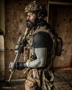Well dressed patriotic beard...