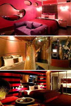over the top bedrooms