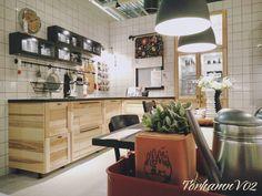 a large kitchen with sektion torhamn natural ash doors sous sol pinterest ash doors and. Black Bedroom Furniture Sets. Home Design Ideas