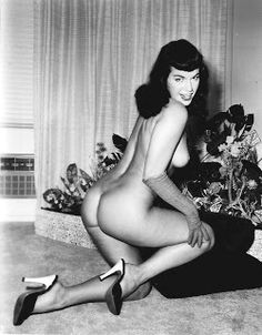 Famous Bettie Page Nude - 8 x 10 Photo Glossy - Very Nice! Bettie Page, Sexy Pin Up Girls, Pin Up Photos, Long Gloves, Pin Up Models, Most Beautiful Women, Celebrity Photos, Pinup, Nude