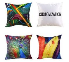 Custom Square Throw Pillow Or Promotional Pillows
