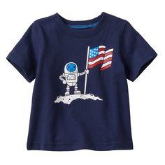 Baby Boy Jumping Beans Patriotic Graphic Tee, Dark Blue, 18 Months #JumpingBeans #EverydayHoliday4thofJulyIndependenceday