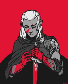 iscawen: zevran from tonight's dragonage60min prompt 'blood'