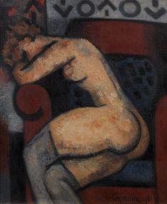 Marcel Gromaire - Modele se reposant, 1931